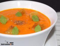 Gazpacho de zanahoria al jengibre Thermomix