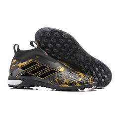 Baratas Adidas ACE Tango 17 Purecontrol TF Botas De Futbol Negro Oro 2d641c3b5da01