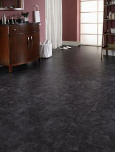 FF203 Grey Slate    Free Fit products are heavier and more stable than other luxury vinyl products. The product itself is flexible, which enables it to conform to contours in the subfloor. Free Fit LVT is also completely water proof. Therefore it is suitable for a wet environment. Since this is a floating floor which is not secured to the subfloor, it can really be used again and again elsewhere!
