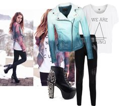"""Hipster"" by alicetributo ❤ liked on Polyvore"