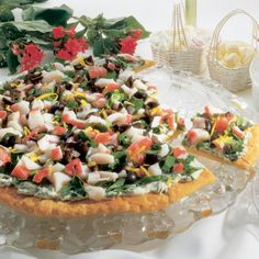 Garden Seafood Pizza - The Pampered Chef®