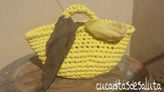 CAPAZO A TRAPILLO PASO PASO !!TUTORIAL DIY ¡¡ / Basket of Trapillo step ...