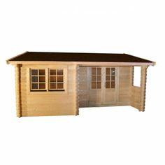 Abri en bois Marianne modèle 24.8 m² - Cémonjardin - CMJ888173