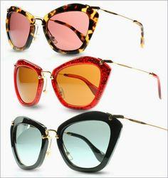 CHANEL AFTER COCO: MIU MIU NOIR SUNGLASSES   http://chanelaftercoco.blogspot.com/2014/02/miu-miu-noir-sunglasses.html