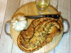 Pane Bianco Filled With Red Pepper, Basil and Garlic - Kudos Kitchen by Renée