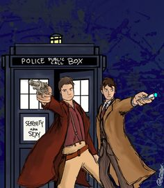 i would so watch this.  The doctor would have to get over his dislike of guns if he wants to travel with the captain. ;)