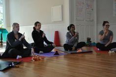 Kids Yoga Training in Progress #yoga4kids #kyt #instructiontime