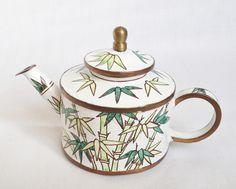 Trade Plus Aid bamboo teapot