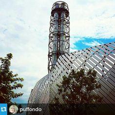 #Torino raccontata da puffondo per #inTO  #into Sembra un'astronave la luccicante costruzione in corso Peschiera #gcpf904
