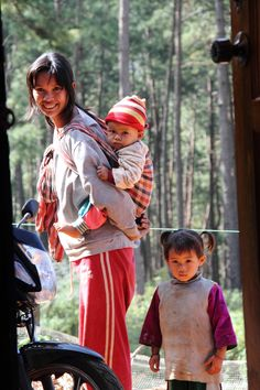 Lisu family of Pang Klang