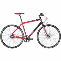 6724b30b2 Hold Steady Bicycle Red Black Urban Bike