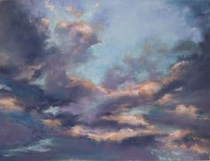 """""""Clouds Saying Goodnight"""" Freemont Canyon, Irvine, CA Paula Brown"""