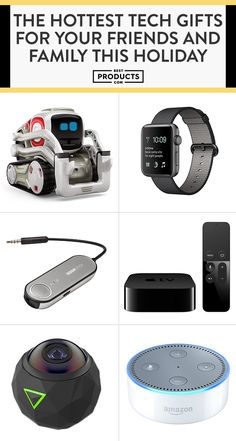 It truly couldn't be a better time to gift someone you love a tech device they're going to quickly become obsessed with. Whether you want to splurge or you're looking to spend under $50, we have a gift for everyone on your list no matter their level of tech know-how. Shop our favorite tech gifts here!