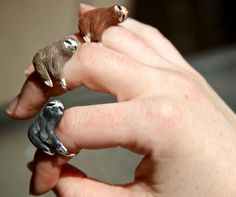 Sloth Ring..stop it! Good shout @Heather Creswell Creswell Carter our favs!