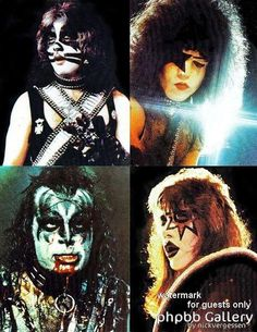 1000 images about kiss on pinterest paul stanley kiss and gene simmons. Black Bedroom Furniture Sets. Home Design Ideas