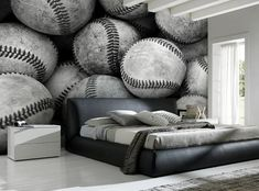 Decorating theme bedrooms - Maries Manor: Sports Bedroom decorating ...