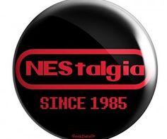 NEStalgia Pin Button @AwsomeGeekStuff