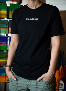Curator T-Shirt at the Wolfsonian Museum Shop