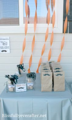 Blissfully Ever After: Little Man Mustache Bash