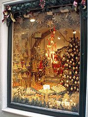 Christmas shop window, Salzburg, Austria