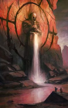 Fantasy Art Watch — Guarding the Falls by Gal Or