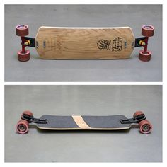 Antidote Longboards with EXILE MFG 13 degrees push set Looks great! my next setup for long distance pushing