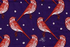 HALF YARD Kokka Echino Decoro Spring 2014  Atori by fabricsupply