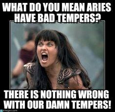 Aries Tempers - Screaming Woman meme on Memegen