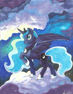 Amazing Princess Luna. Luna. MLP FIM. My Little Pony.