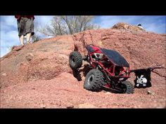 Couple Axial Wraith's doing some crawling on great terrain.