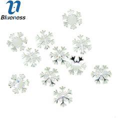 10pcs/lot Silver Alloy Material Nail Art Supplies 3D Snowflake Design For Charms Nail Fashion DIY Decoration TN1622