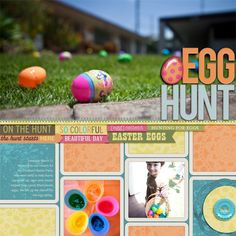 COOL page & great pics by @Joscelyne Cutchens | Easter Blossom Kit from peppermintcreative.com