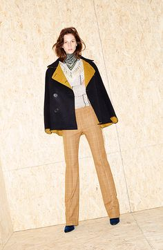 Derek Lam. Without the ascot, I love this look for work.