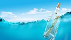 Water Bottle Letter Pictures HD Wallpaper