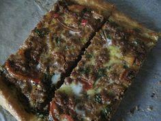 Cupcakeluv: Tyrkisk pizza / Turkish pizza