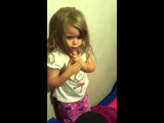 """▶ 4 yr old's reaction to Matt Smith's regeneration - So cute!!! She misses her """"Bow-Tie Doctor"""""""