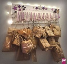 See related links to what you are looking for. Clay Christmas Decorations, Pink Christmas Decorations, Ramadan Decorations, Christmas Crafts, Homemade Calendar, Homemade Advent Calendars, Diy Advent Calendar, Holiday Gift Guide, Holiday Fun