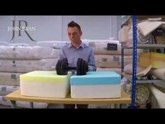 What do memory foam & latex mattresses feel like? John Ryan Contemporary - YouTube