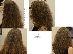Another fun day in curly hair design!   :-)