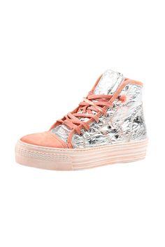 Shoptiques — Shiny Foiled Sneaker