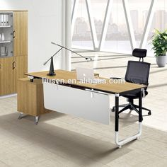 Cheap Price Factory Direct Wooden Boss Office Executive Working