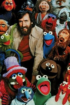 Jim Henson-I love all of his creations.