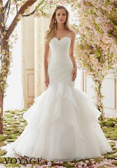 Shop Morilee's Organza Wedding Dress with Crystal Beaded Straps. Wedding Dresses and Bridal Gowns by Morilee designed by Madeline Gardner. Crystal Beaded Straps on Organza Wedding Dress Mori Lee Bridal, Mori Lee Wedding Dress, Wedding Dress Organza, Wedding Dresses With Straps, Perfect Wedding Dress, Bridal Wedding Dresses, Wedding Dress Styles, Dream Wedding Dresses, Designer Wedding Dresses
