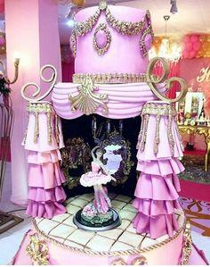Pretty Cakes, Beautiful Cakes, Amazing Cakes, Carousel Cake, Carousel Birthday, Ballerina Cakes, Ballerina Birthday, Shoe Cakes, Cupcake Cakes