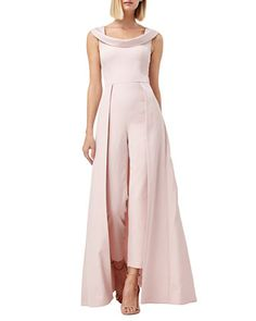 Find and compare Kay Unger Jumpsuit Gown across the world's leading online stores! Elegant Jumpsuits For Wedding, Jumpsuit For Wedding Guest, Dressy Jumpsuits For Weddings, Mother Of Bride Outfits, Mother Of Groom Dresses, Jumpsuit Dressy, Jumpsuit With Sleeves, Dressy Jumpsuit Wedding, Formal Dress