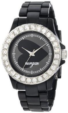 Morgan Women's M1060B Black Plastic Crystallized Bezel Watch Morgan, http://www.amazon.com/dp/B0058FC2Z8/ref=cm_sw_r_pi_dp_g4f3qb1WFJRG1
