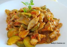 Betty's Cuisine: Κοτόπουλο διαίτης με μανιτάρια και κολοκυθάκια