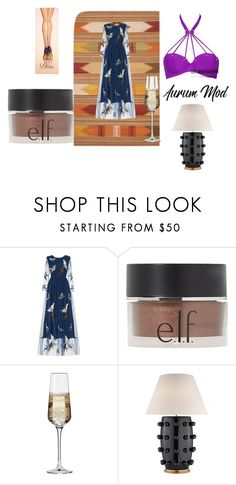 """AER"" by efrat-kazoum on Polyvore featuring Safavieh, e.l.f., Krosno and Kelly Wearstler"