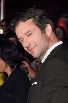 *love that smirk of his* James Purefoy