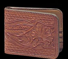 Wallet, Hand Tooled Russet - Nick